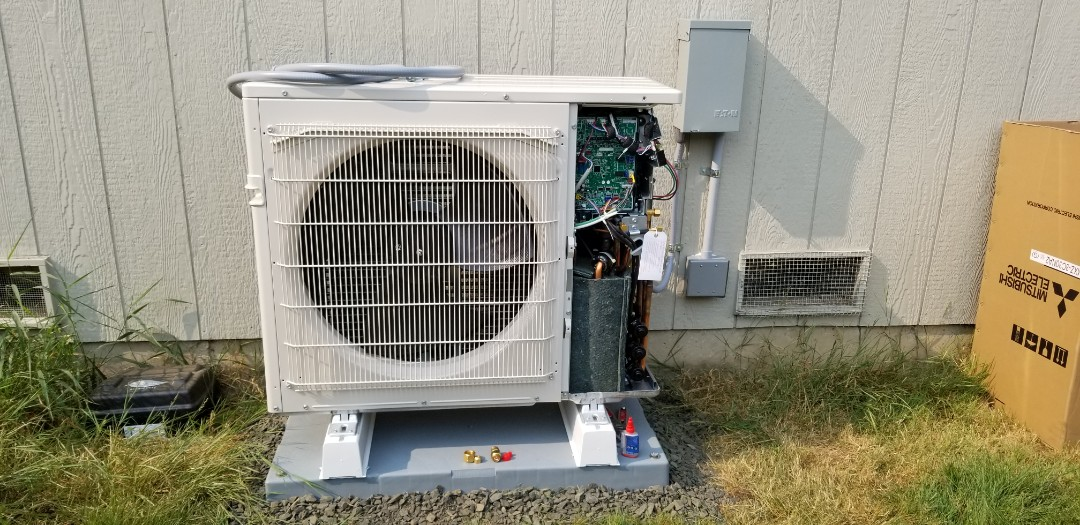 Everett, WA - Electrical install new AC system