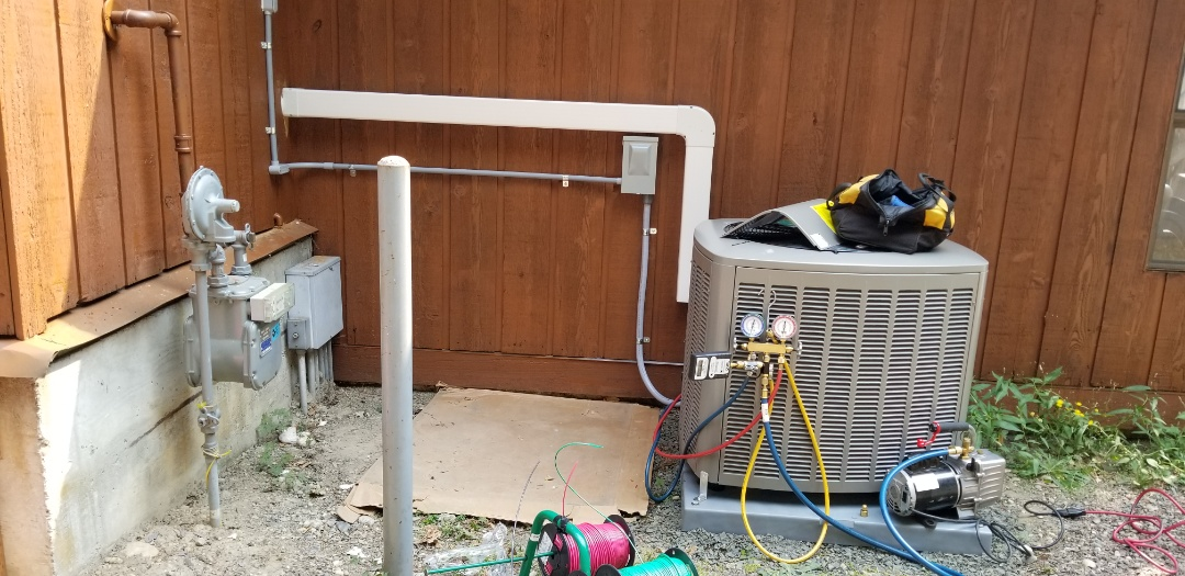Bothell, WA - Electrical install new AC unit