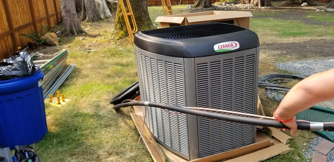 Gold Bar, WA - Electrical install new heat pump system and furnace