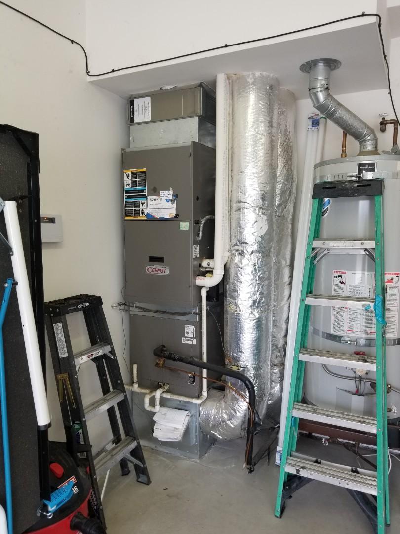 Edmonds, WA - Providing an estimate to install a Lennox Signature Series heat pump in Stanwood.