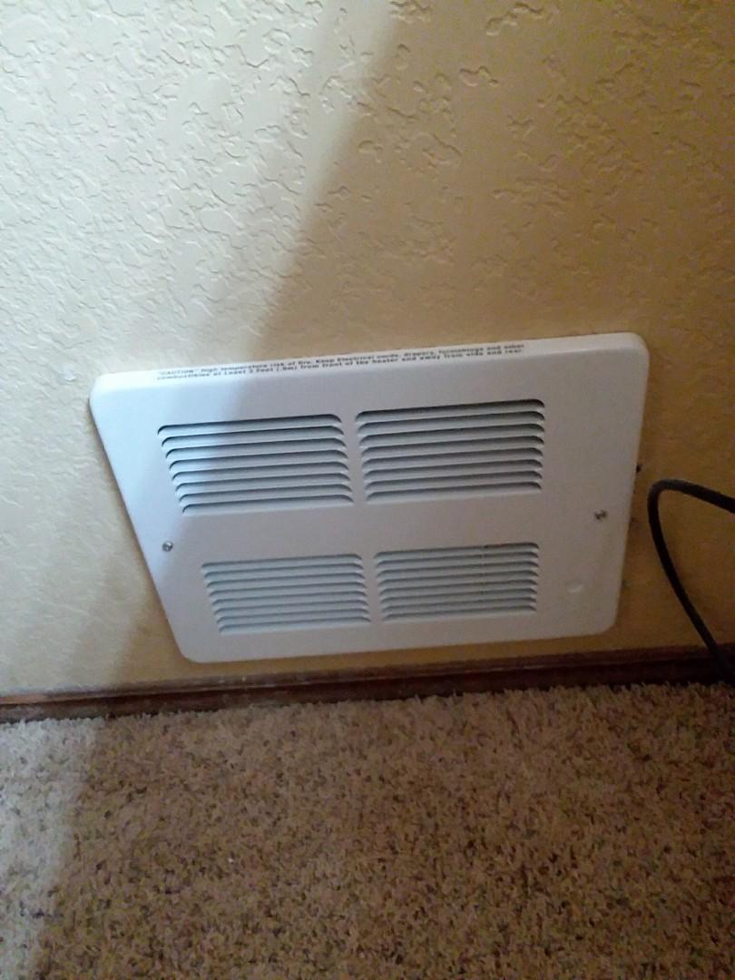 Mukilteo, WA - Installing 7 new King in wall heaters