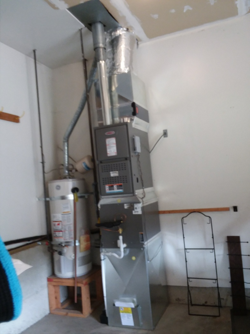 Mukilteo, WA - Lennox gas furnace and air conditioner install