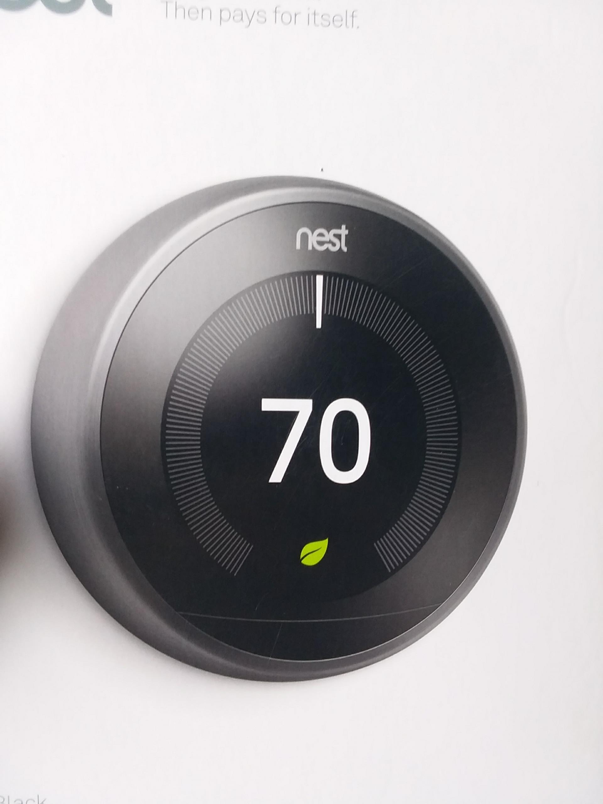 Lynnwood, WA - Replaced Nest thermostat in Lynnwood.