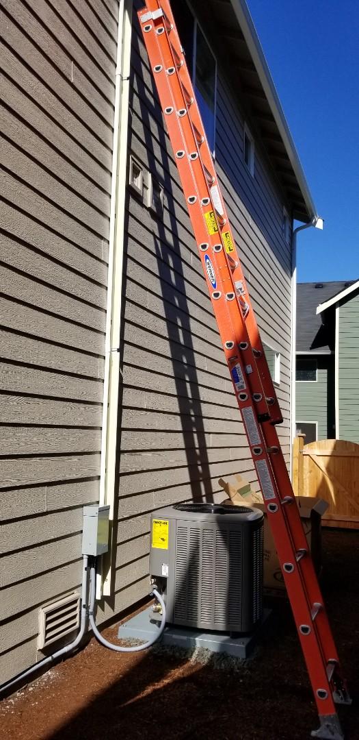 Lake Stevens, WA - Electrical install new AC unit