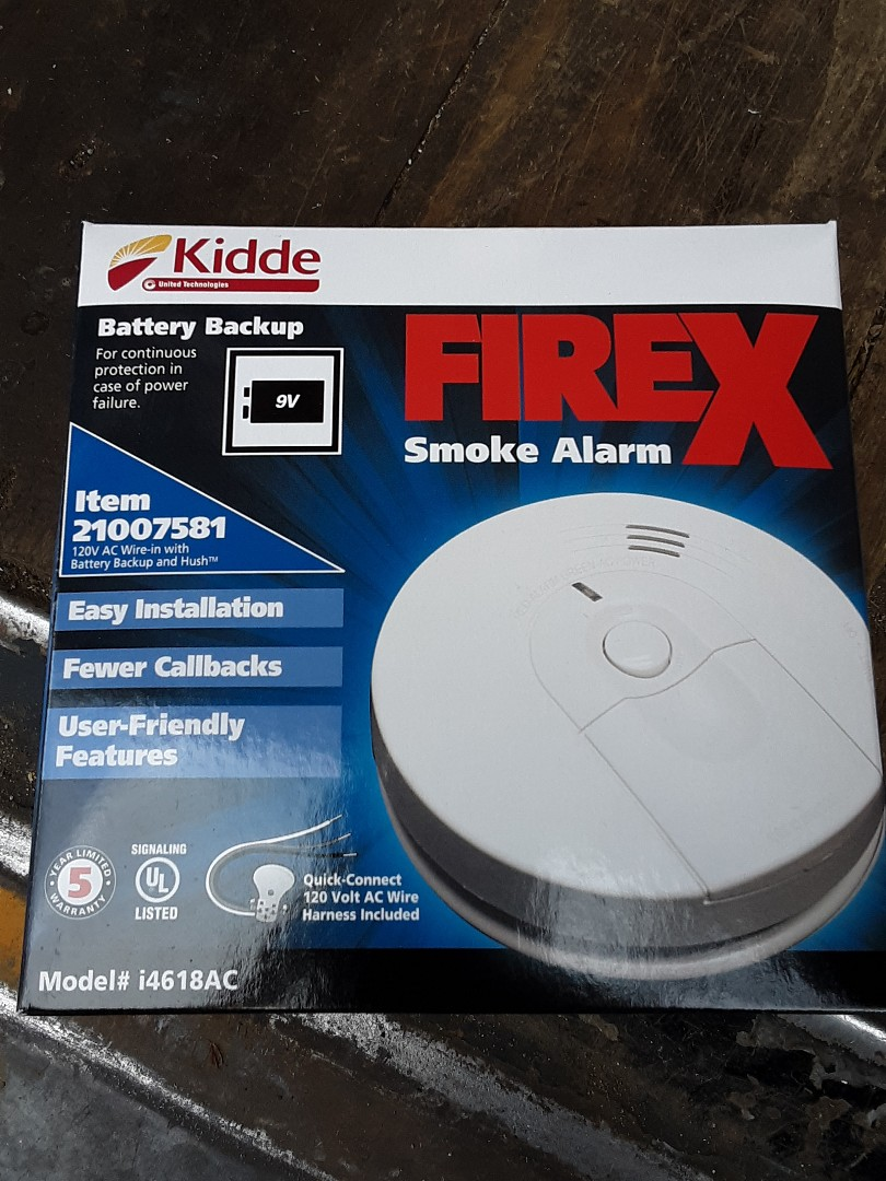 Lynnwood, WA - Replacing six old smoke detectors with brand new Kidde smoke detectors as well as checking for proper function