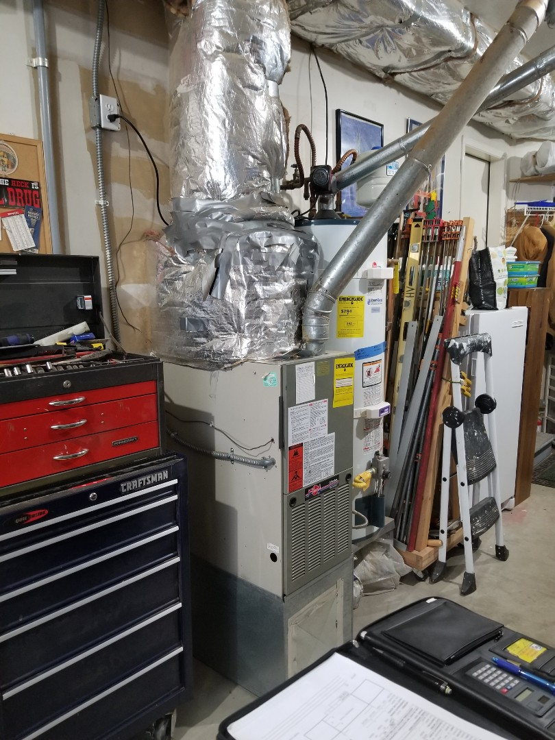 Marysville, WA - Providing an estimate to install a Lennox Elite Series furnace in Everett.
