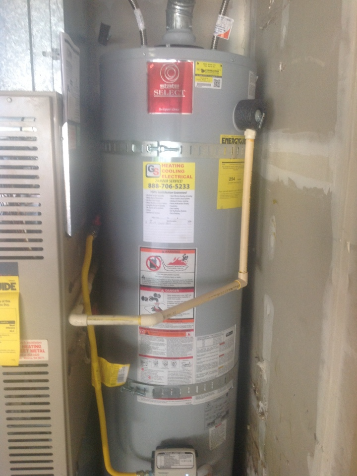 Monroe, WA - Installing a natural gas water heater in Monroe .