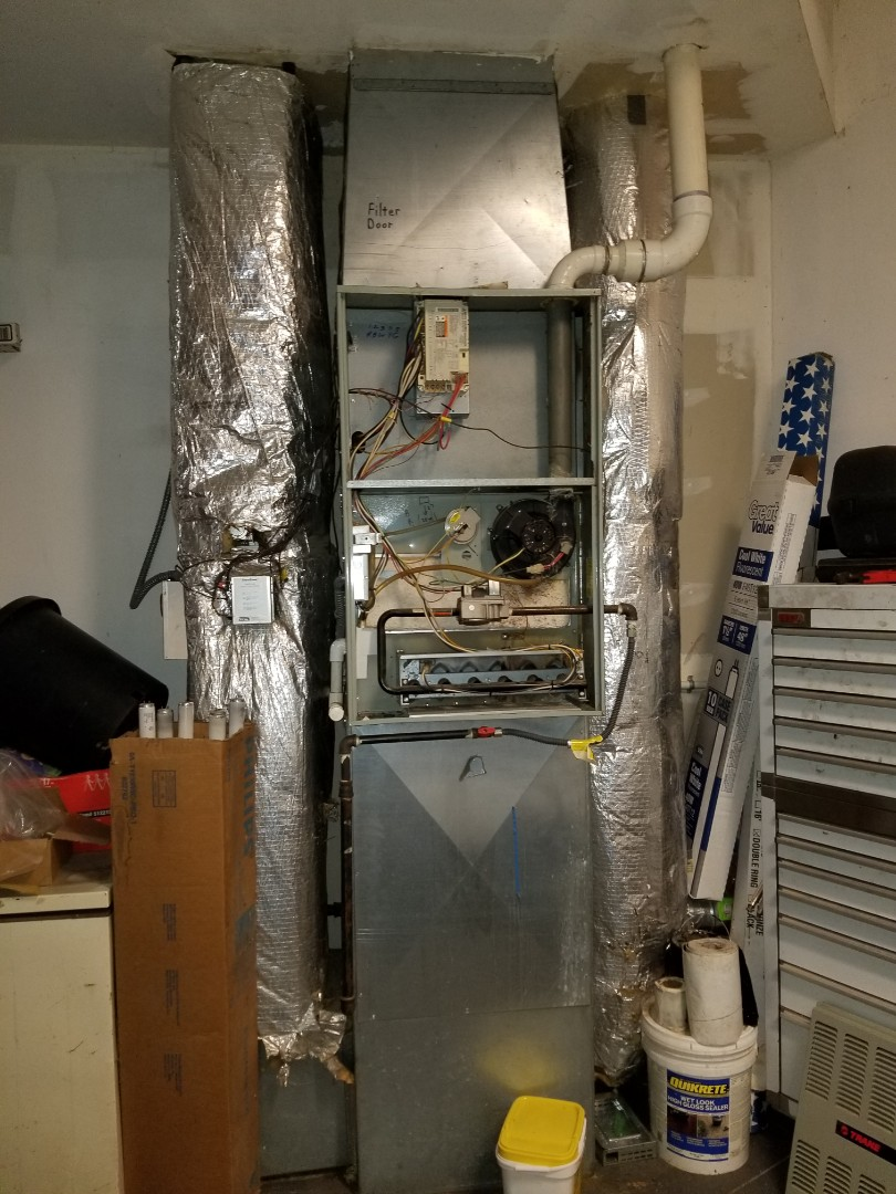 Stanwood, WA - Providing an estimate to install a Lennox Elite Series furnace in Stanwood.