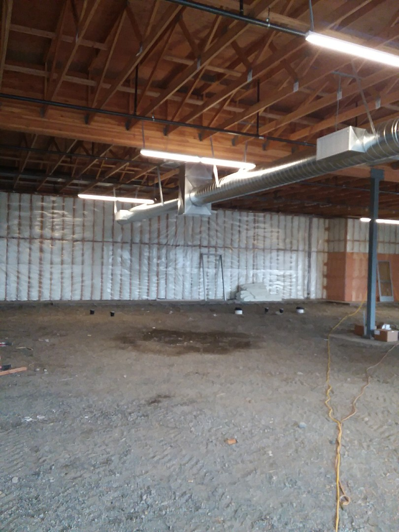 Stanwood, WA - Last step to commercial spiral duct