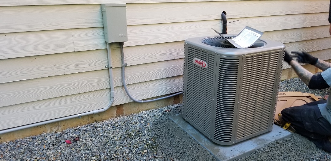 Edmonds, WA - Electrical install new AC system and furnace upgrade