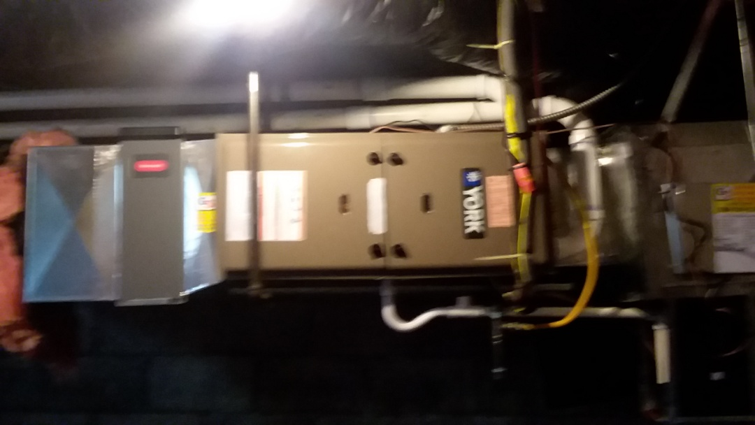 Lake Stevens, WA - York high efficiency gas furnace install