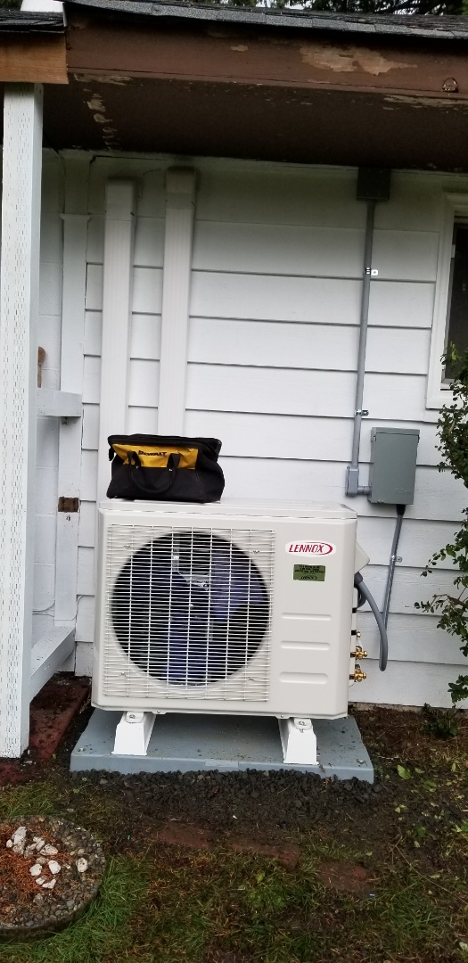 Mountlake Terrace, WA - Electrical install new heat pump system
