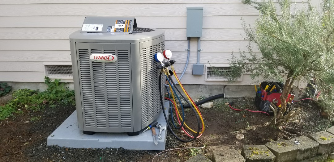 Mukilteo, WA - Electrical install new AC system