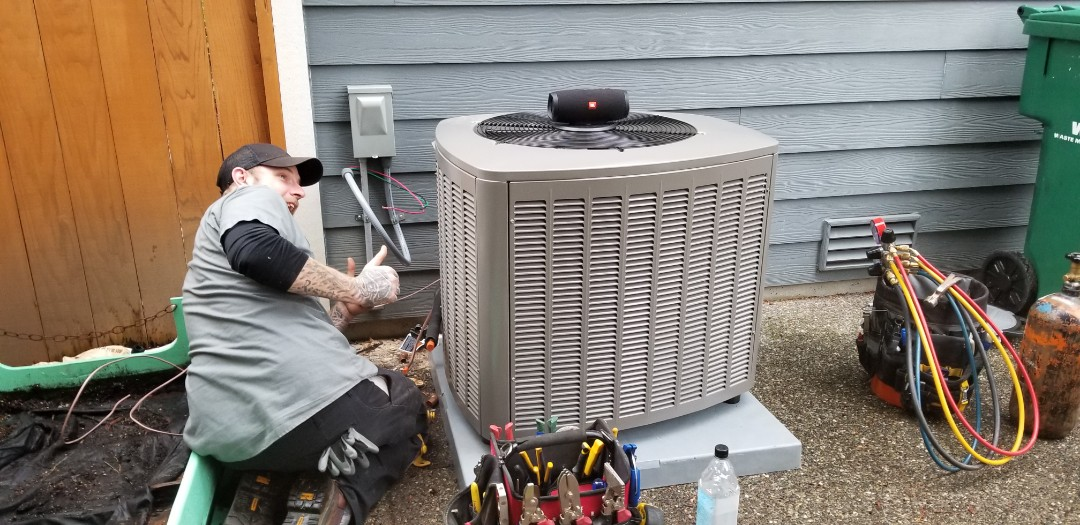 Bothell, WA - Electrical install new AC system