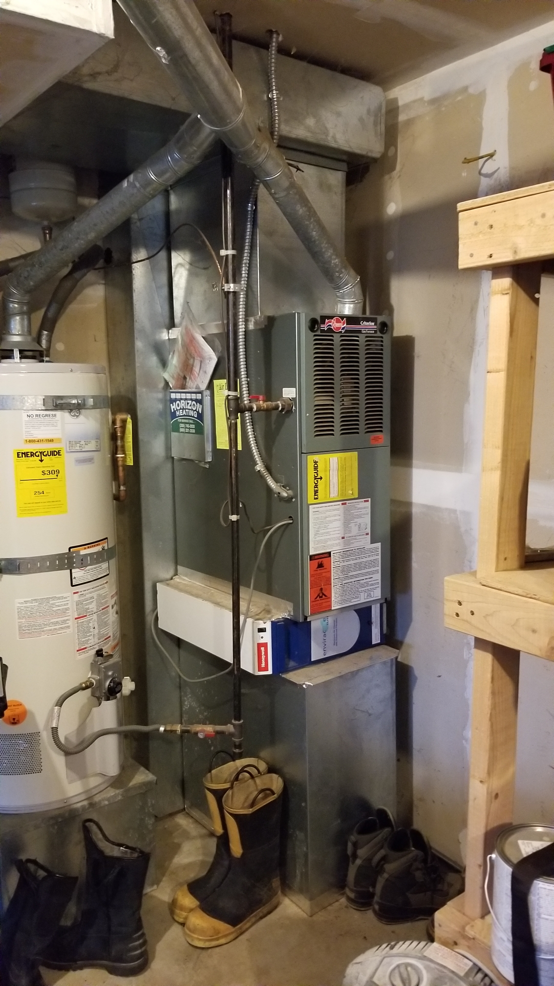 Lynnwood, WA - Estimate on a new air conditioner and furnace