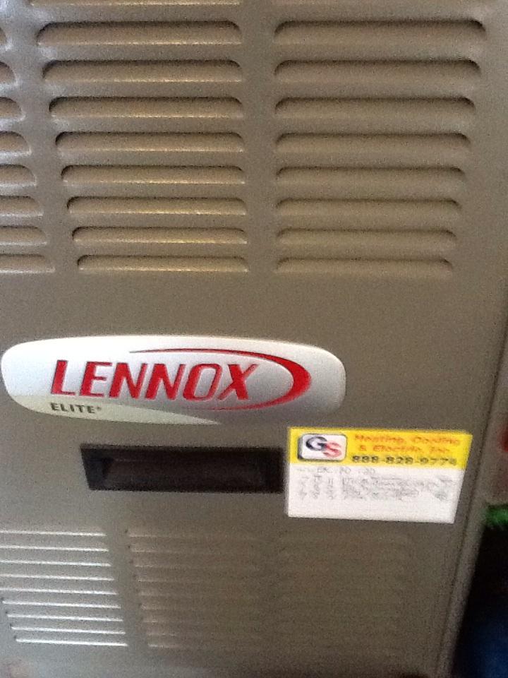 Monroe, WA - Maintenance on a Lennox duel fuel heat pump in Monroe