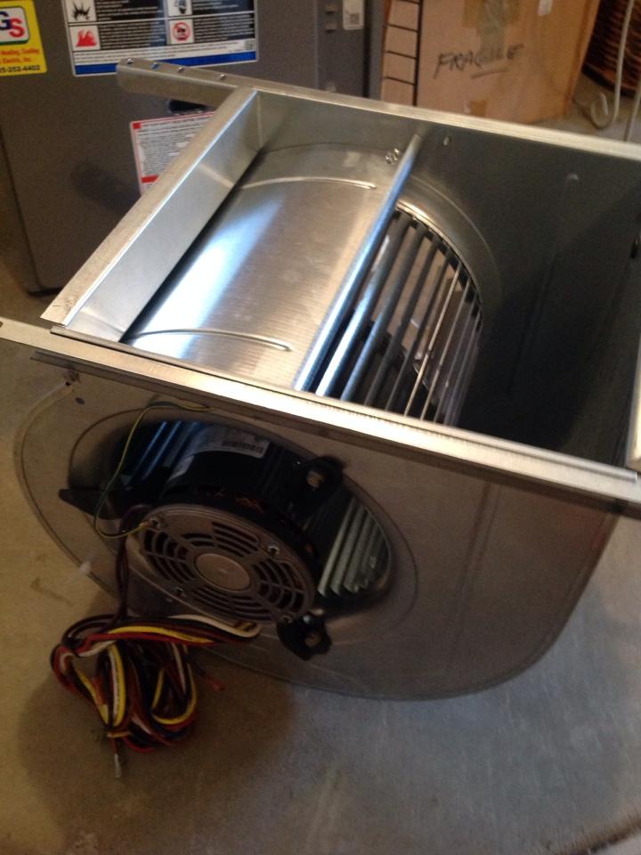 Monroe, WA - Replaced a blower motor on a Lennox Gas furnace.