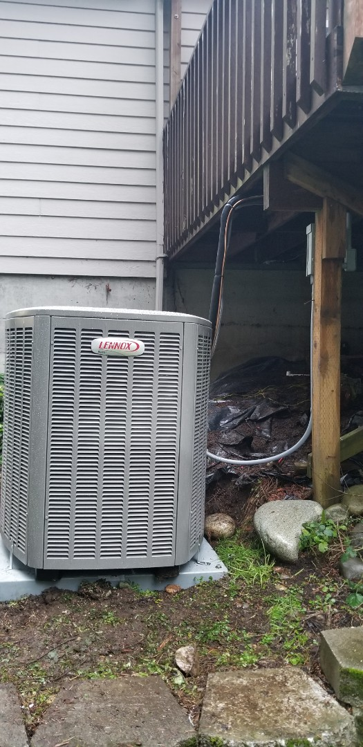 Tulalip, WA - Electrical install new heat pump system and furnace upgrade