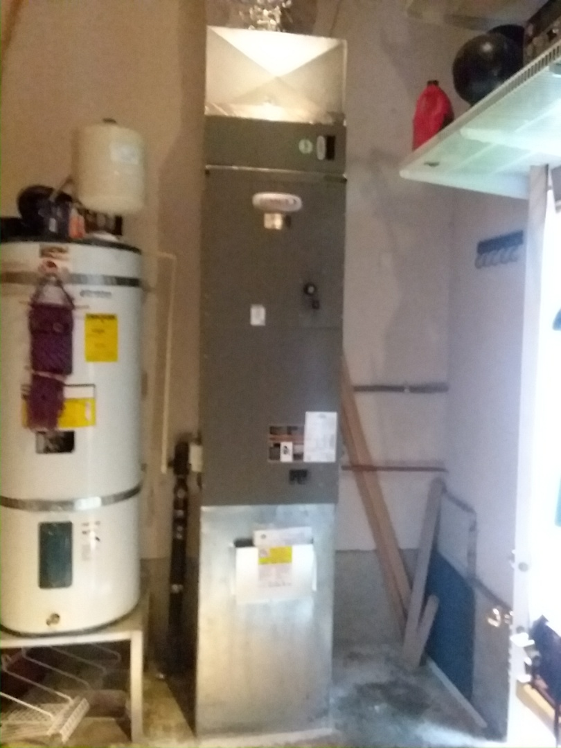 Everett, WA - Just finished installing a Lennox electric air handler for customer in Everett today happy to have heat again