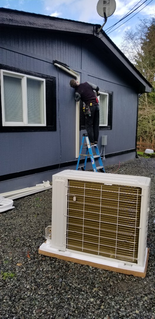 Stanwood, WA - ELECTRICAL INSTALL NEW HEAT PUMP SYSTEM