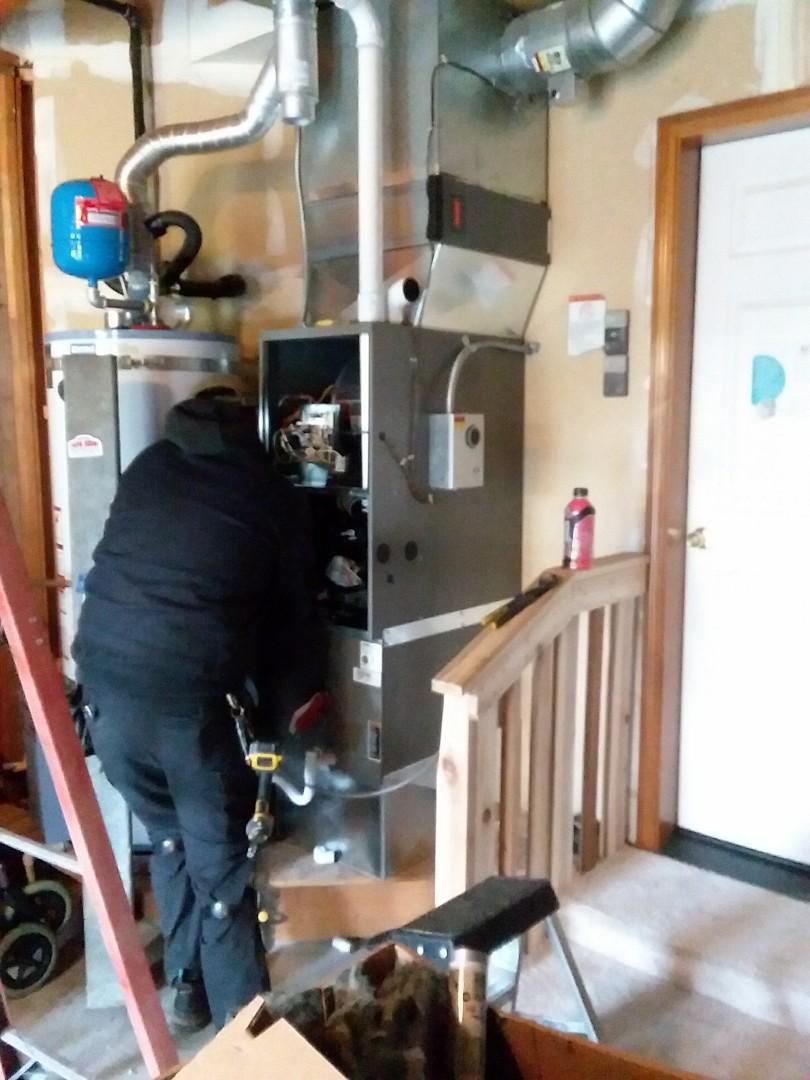Lynnwood, WA - 80 percent furnace to 90 percenter!