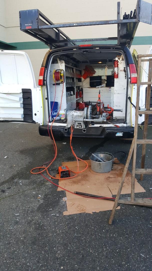 Everett, WA - gas piping