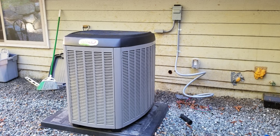 Lake Stevens, WA - Electrical install new heat pump system and furnace
