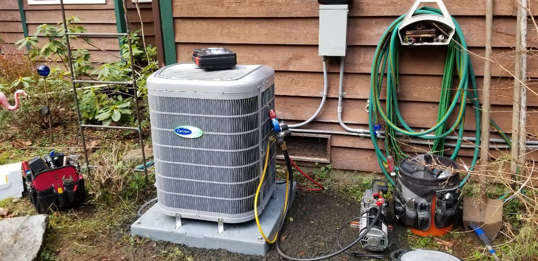 Snohomish, WA - Electrical install new heat pump system and furnace upgrade