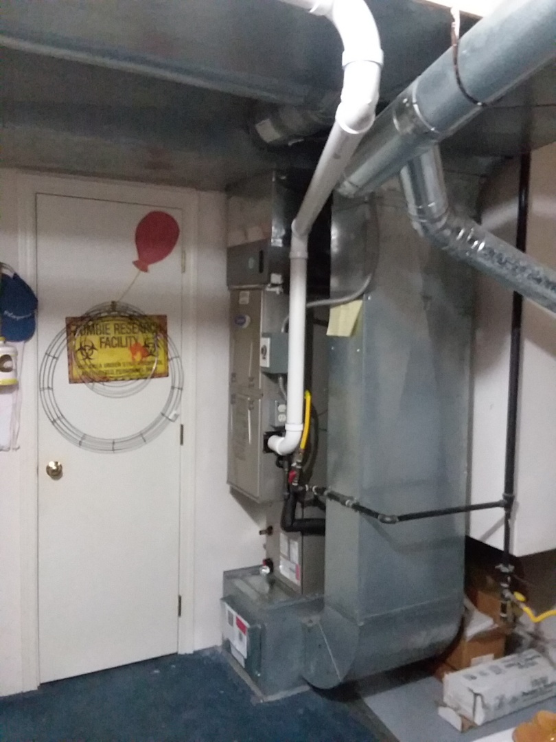 Marysville Wa Heating Air Conditioning And Electric Services Residential Natural Gas Furnaces Wiring Just Finished Installing A 80 To 96 Furnace 2
