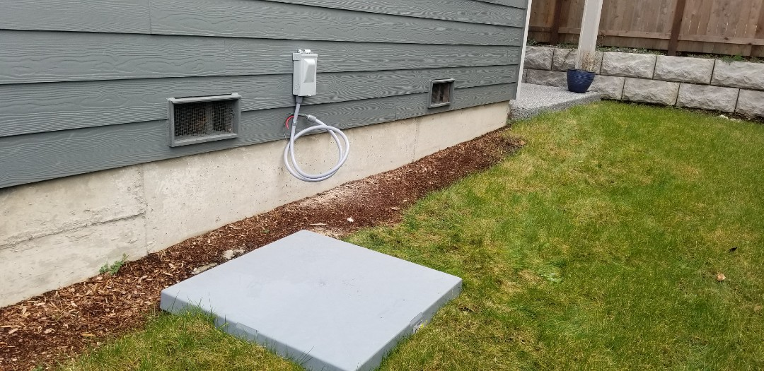 Bothell, WA - Electrical install new AC system and car charging system