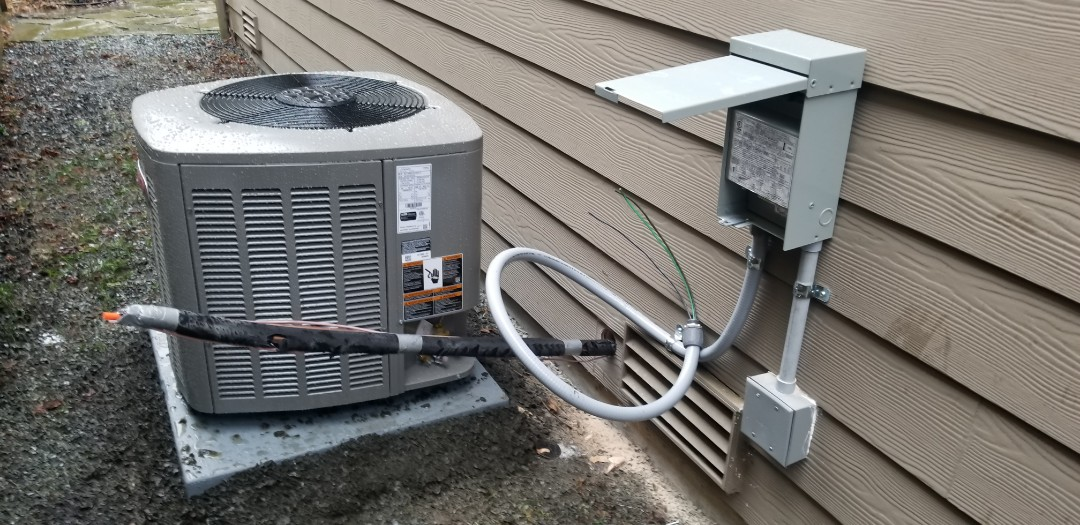Bothell, WA - Electrical install new heat pump system and furnace upgrade