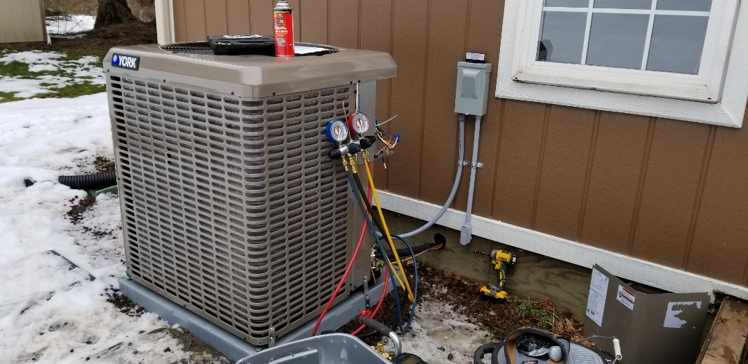 Arlington, WA - Electrical install new heat pump system and furnace upgrade