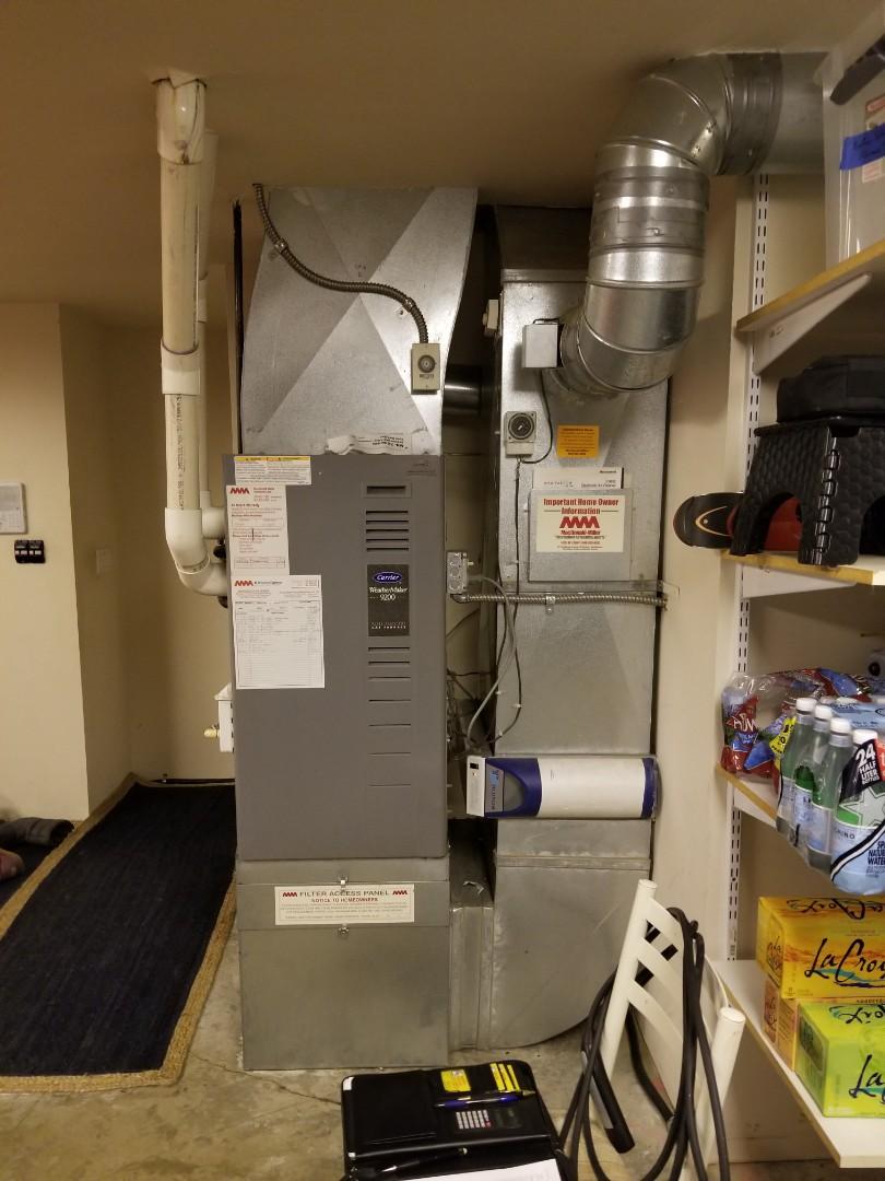 Edmonds, WA - Providing an estimate to install a Lennox air conditioner in Edmonds.