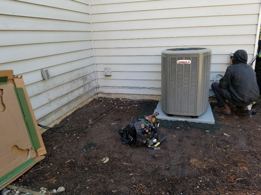 Mill Creek, WA - Electrical install new heat pump system and furnace