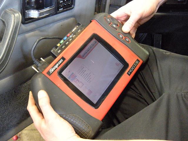 Bellview, FL - Replaced anti-lock brake system sensor on a 2009 Dodge-Caliper SXT.