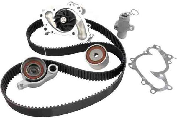 Replace timing belt , water pump, camshaft seal, and crank shaft on a 2005 Honda-Pilot Ex.