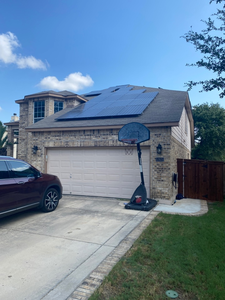 San Antonio, TX - Roof inspection in far west San Antonio! New roof coming soon from hail damage!