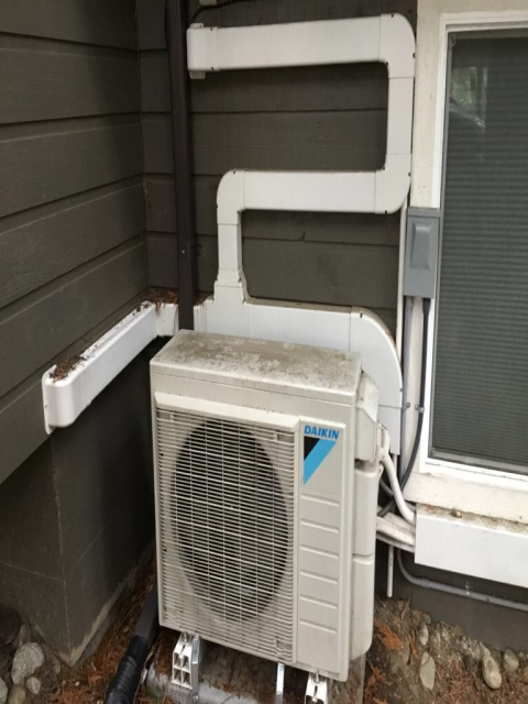 Shoreline, WA - Diagnosis for a customer without heat today, the part for their Daikin Heating System is on it's way so we can get this home warm ASAP!
