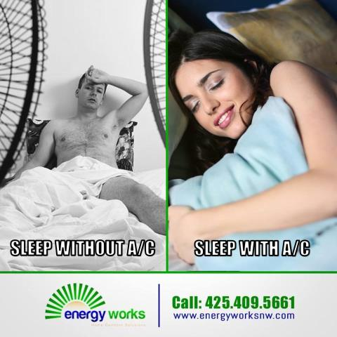 Mountlake Terrace, WA - The heat is here! Fans are nice, but we can all agree A/C is better!. I'm at corp office in Mountlake Terrace, working on scheduling A/C installs. Call us and schedule your free in home air-conditioning consultation today.