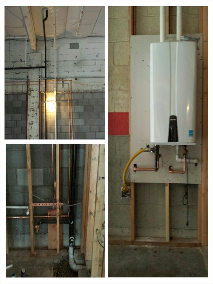 Rancho Cordova, CA - tank less water heater install plumbing repairs and instalation.  sacramento top plumbers