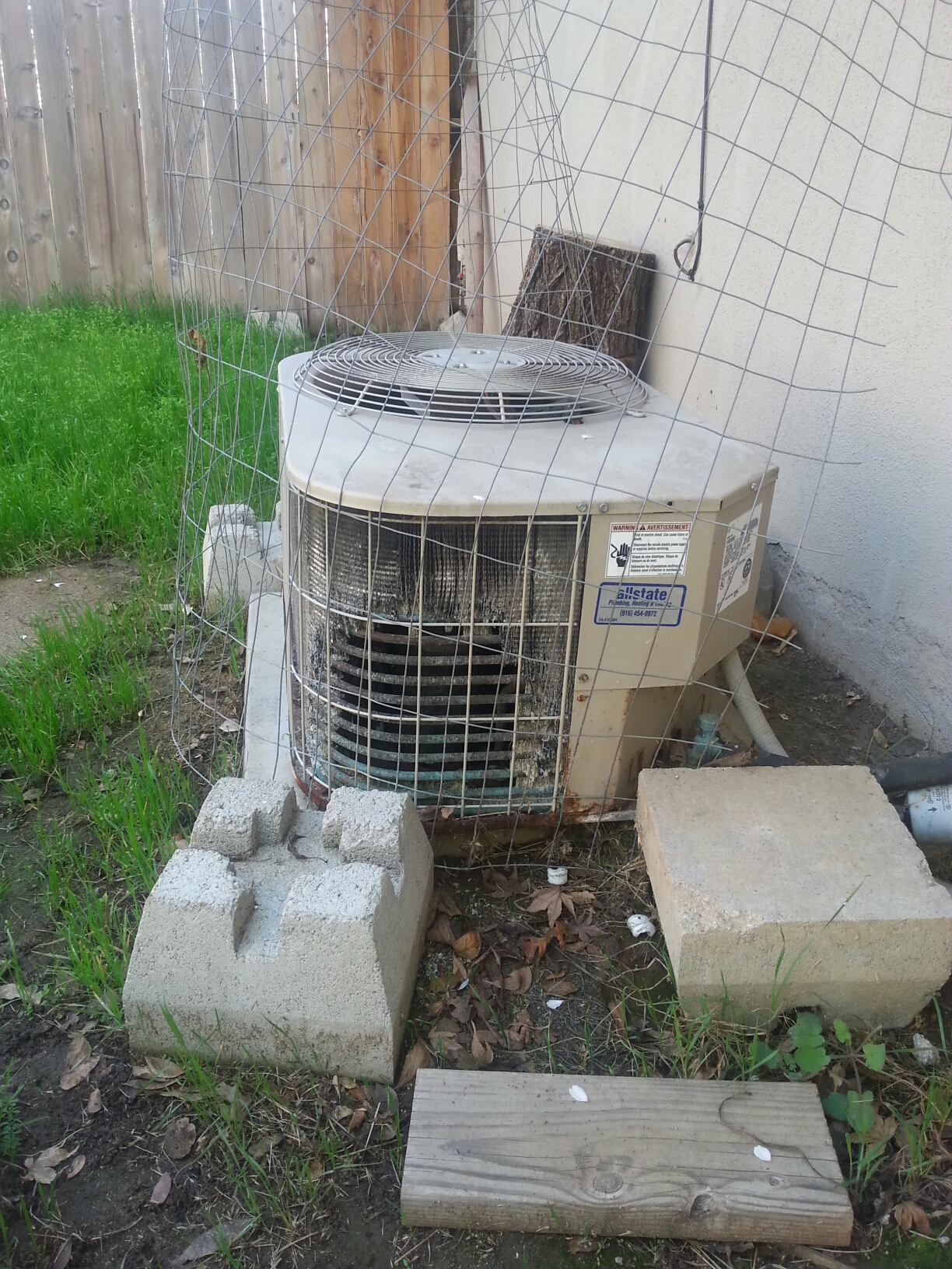Rio Linda, CA - Rio Linda A/c unit not running. Replaced capacitor and working great.