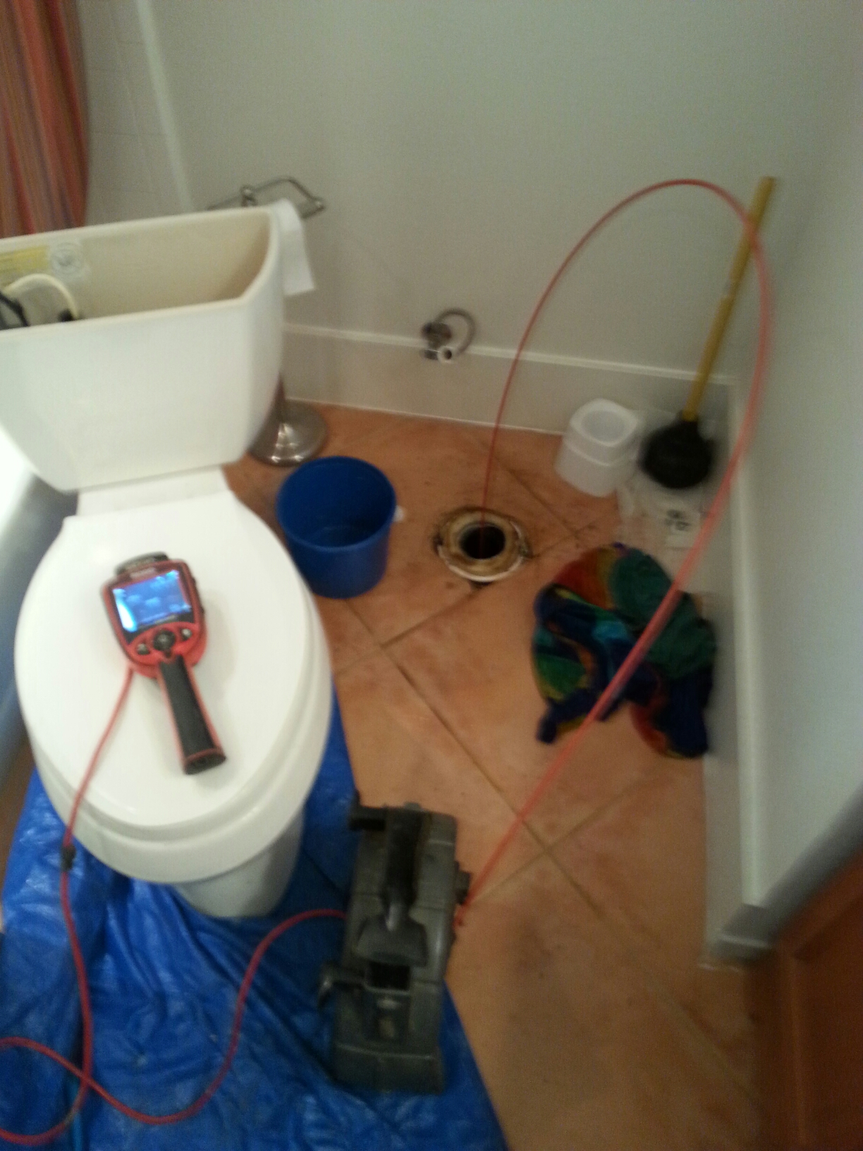 Rio Linda, CA - Rio linda instalation of two Kohler toilets and repair on a third toilet
