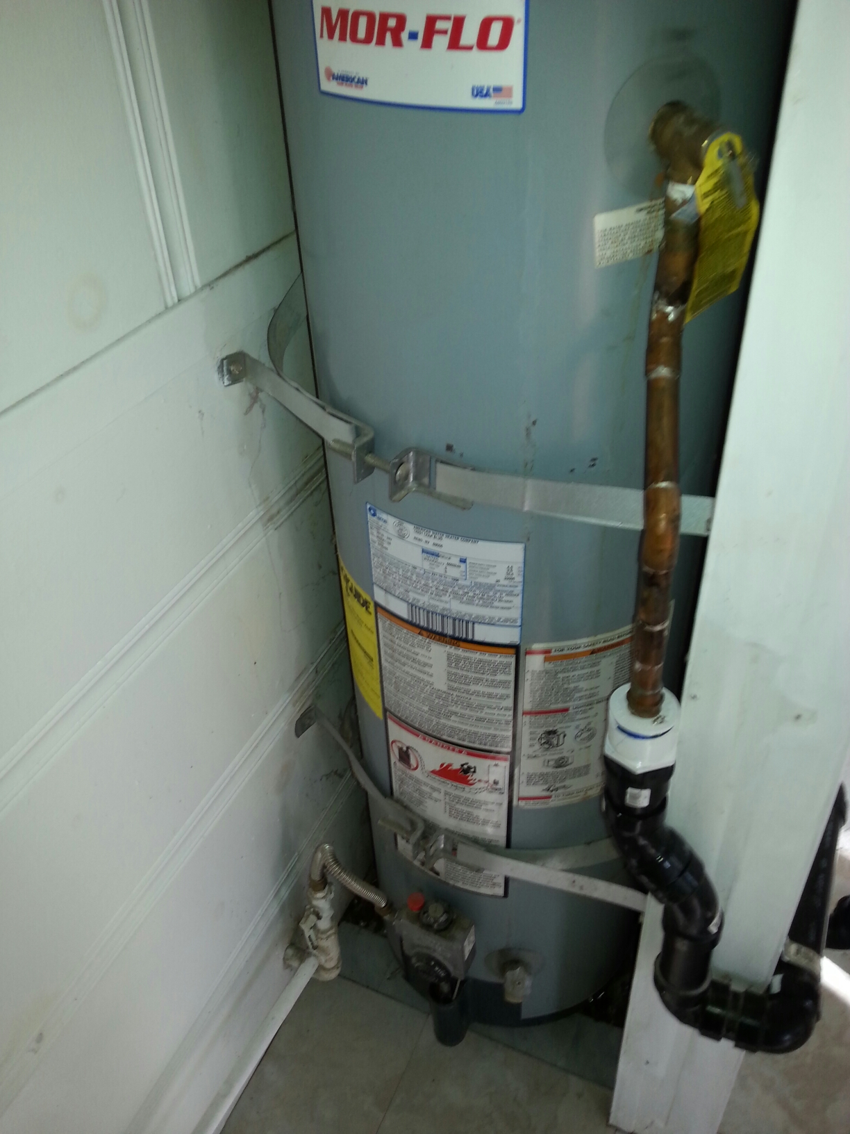 Colfax, CA - F oresthill tankless estimate and customer approval for installation.