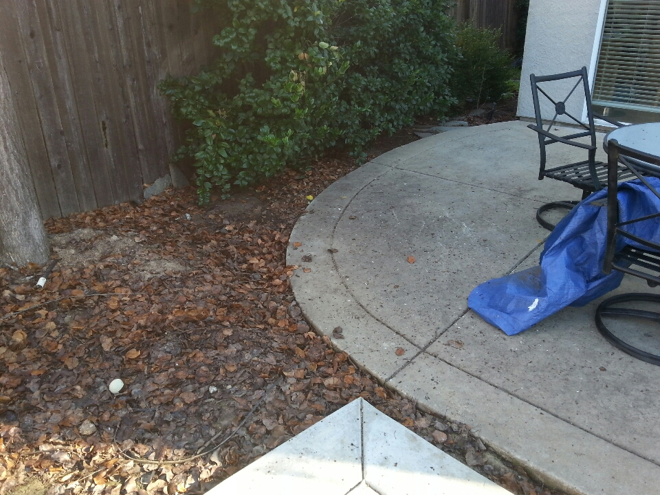 Rocklin, CA - Rockland plumbing. Plumbing Rockland. Estimate to replace existing storm drain.