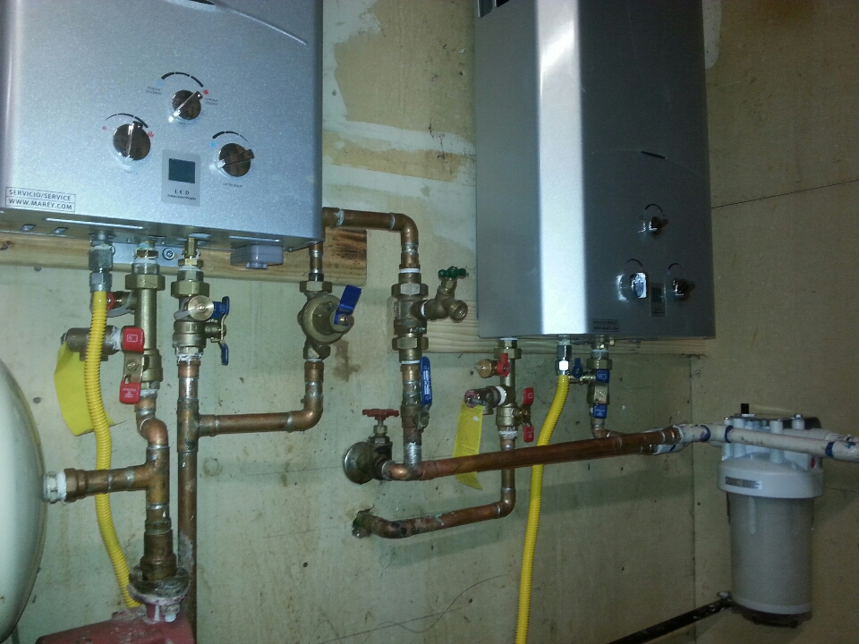 Davis, CA - Plumbing Davis. Davis plumbing. Service to tankless water heaters and install filter