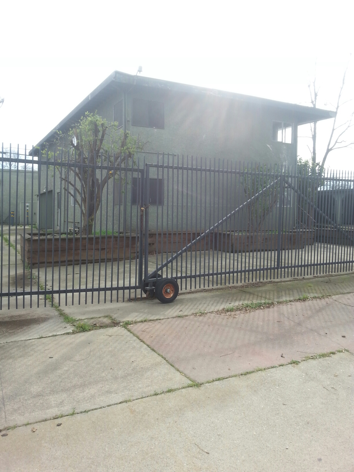 West Sacramento, CA - Inspection of building for water, sewer and gas