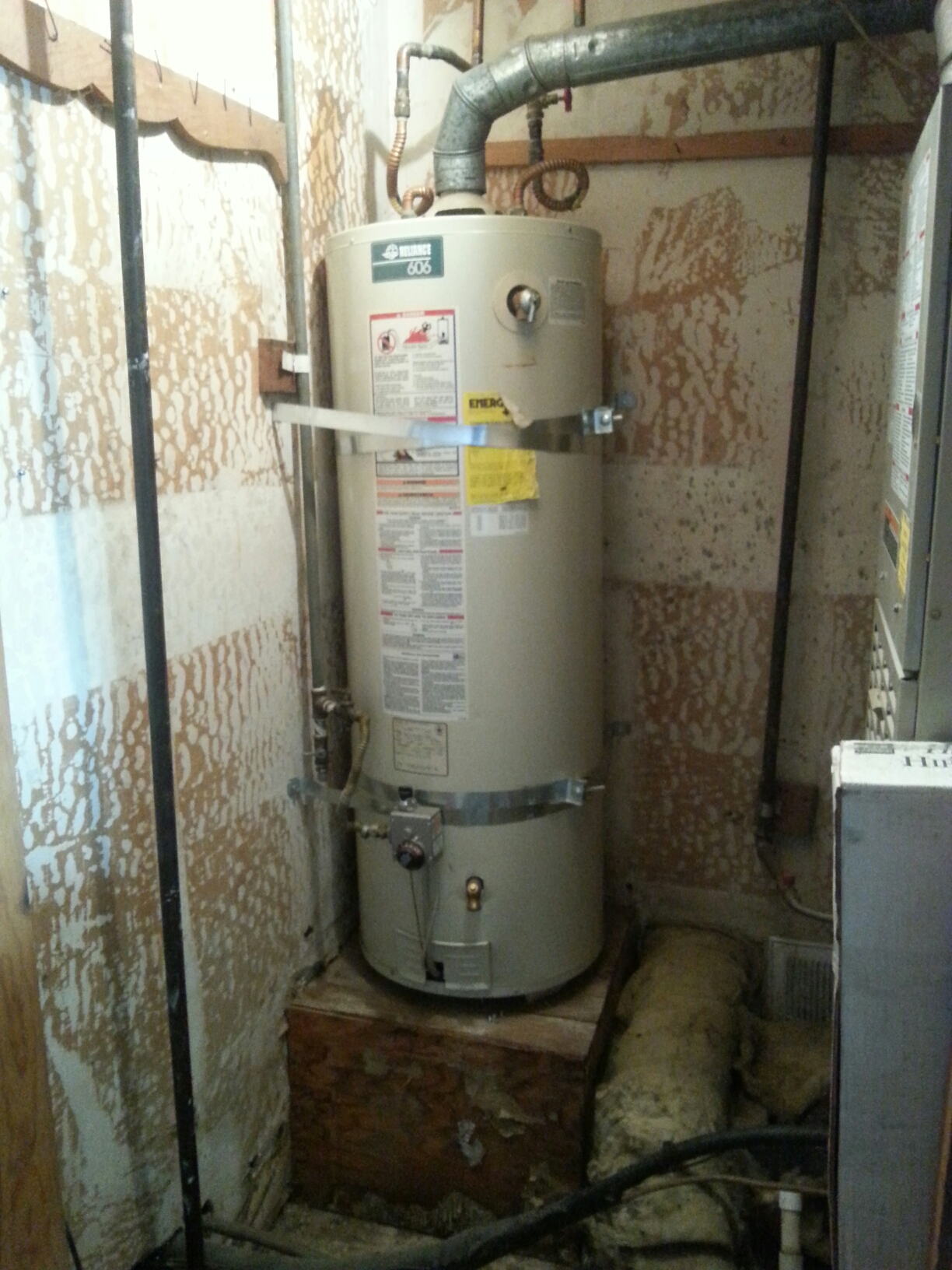 Folsom, CA - Folsom plumbing repair 50 gallon tank water heater