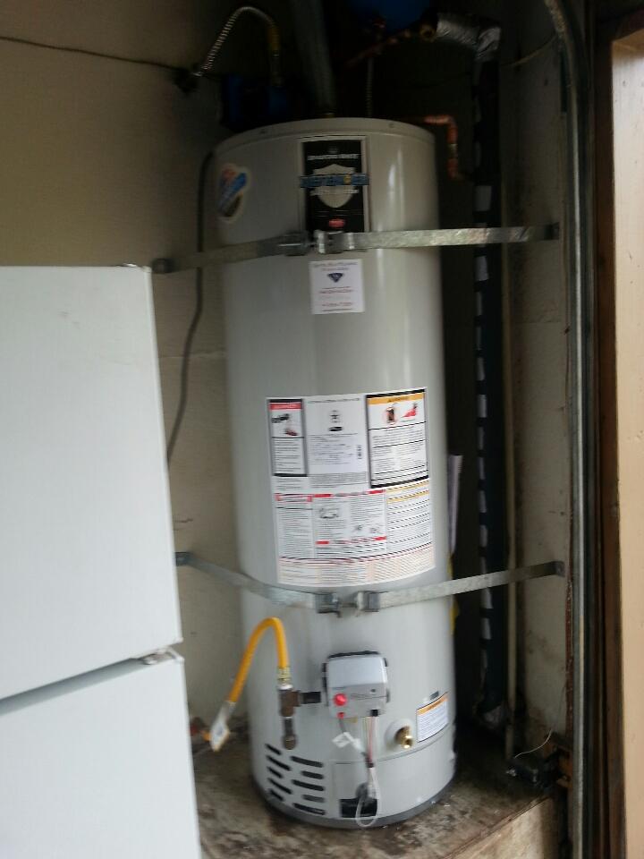 Rocklin, CA - Rockland 40 gallon bradford White Water Heater replacement