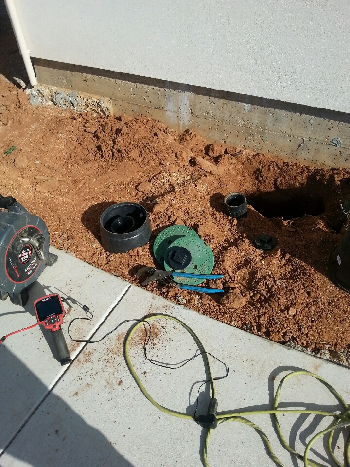 Newcastle, CA - Newcastle sewer line inspection sewer smell