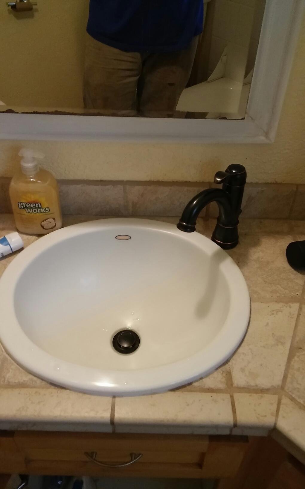 Gold River, CA - Loomis plumbing repairs....   New faucet instal.. Toilet rebuild.
